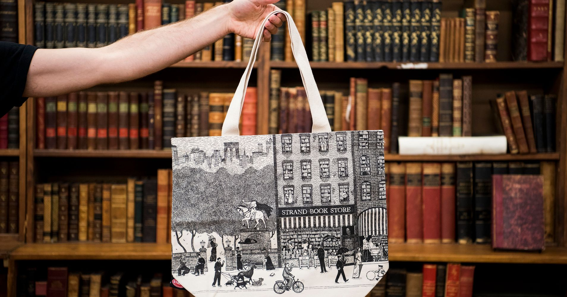 3c3d3f02b10b How A 90-Year-Old Bookstore Got Into The Business Of Totes | HuffPost