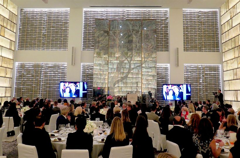 The Fragrance Foundation Circle of Champions gala in the Onyx Room at the Park Hyatt New York