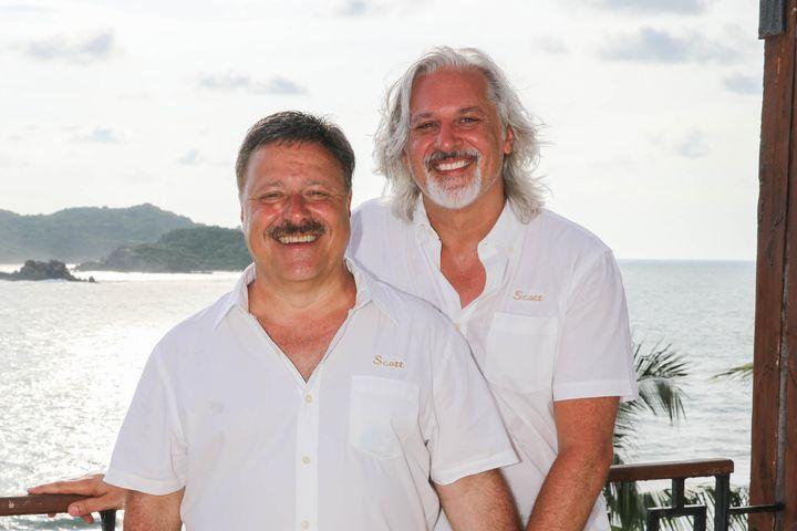 Scott Saladino & Scott Kricho at the R Family Vacations / Olivia Travel Summer 2017 Vacation at Club Med Ixtapa