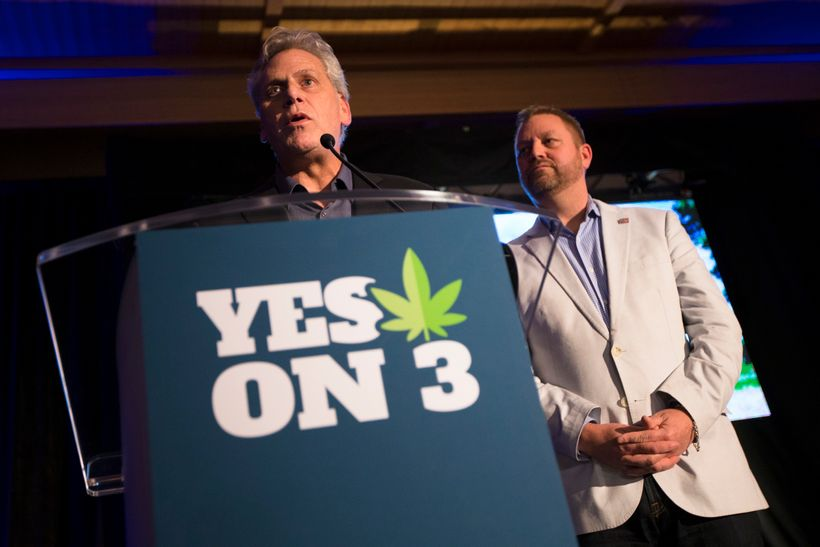 Left, James Gould. Right, Ian James. After the defeat of ResponsibleOhio