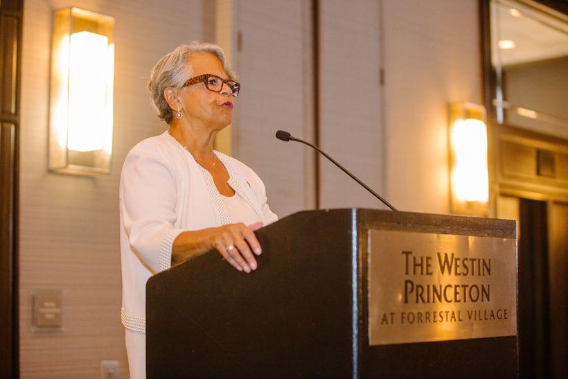 Congresswoman Bonnie Watson-Coleman at her 2017 Women's Power Luncheon