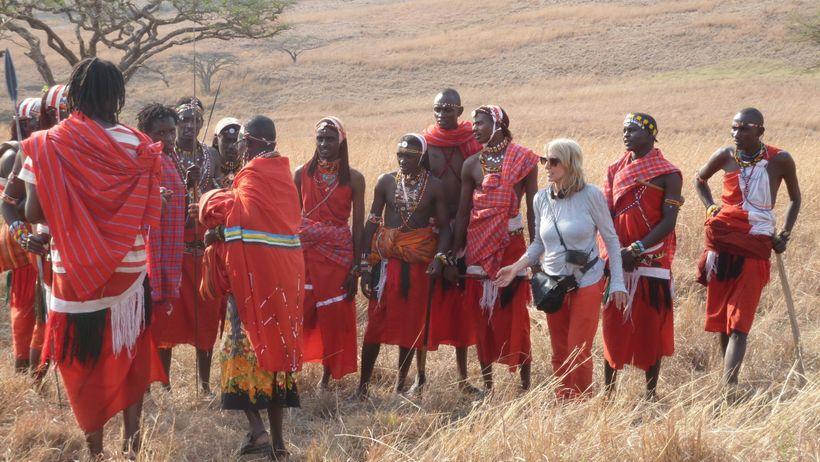 <strong>Fieldwork: Bronwen Hughes among the Maasai</strong>