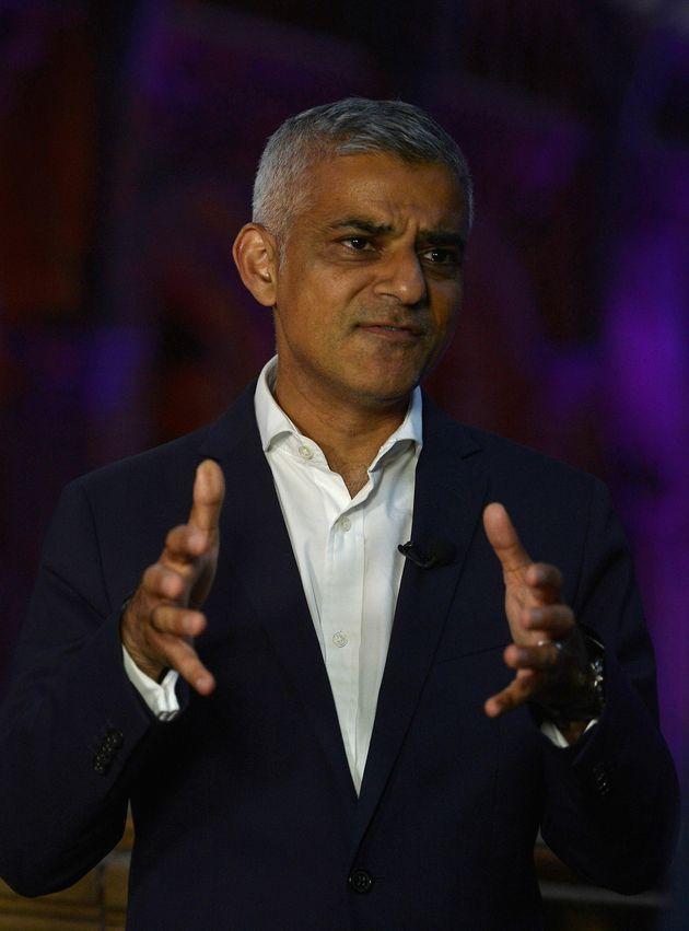London Mayor Sadiq Khan has backed the