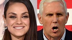 Mila Kunis Expertly Trolls Mike Pence Every Single