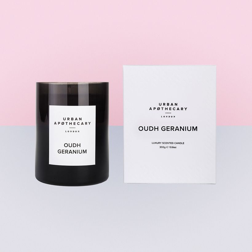<em>Wildly original: Oudh Geranium by Urban Apothecary</em>