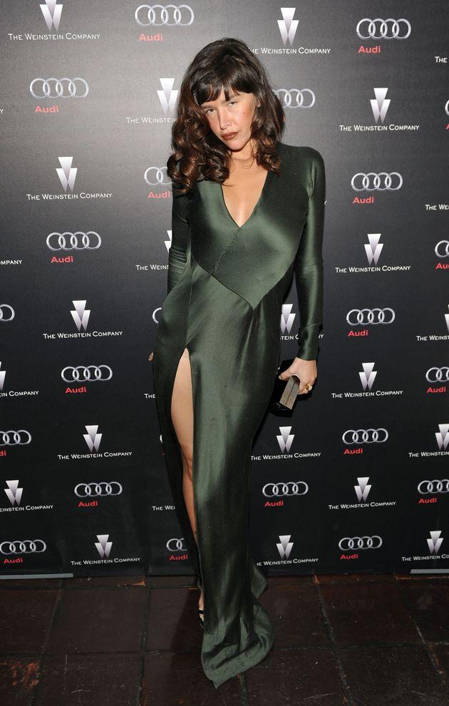 Paz de la Huerta attends the Weinstein Company's celebration for Best Picture winner 'The King's Speech'...