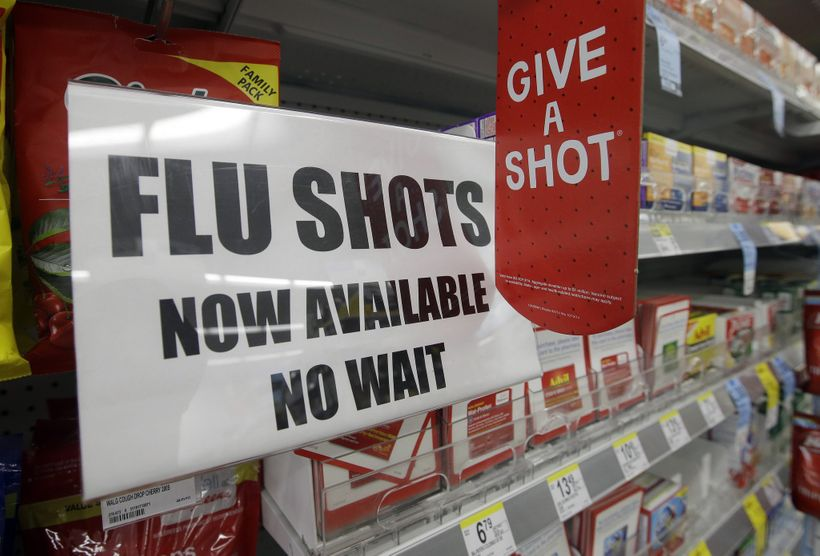 The flu vaccine is easy to get.