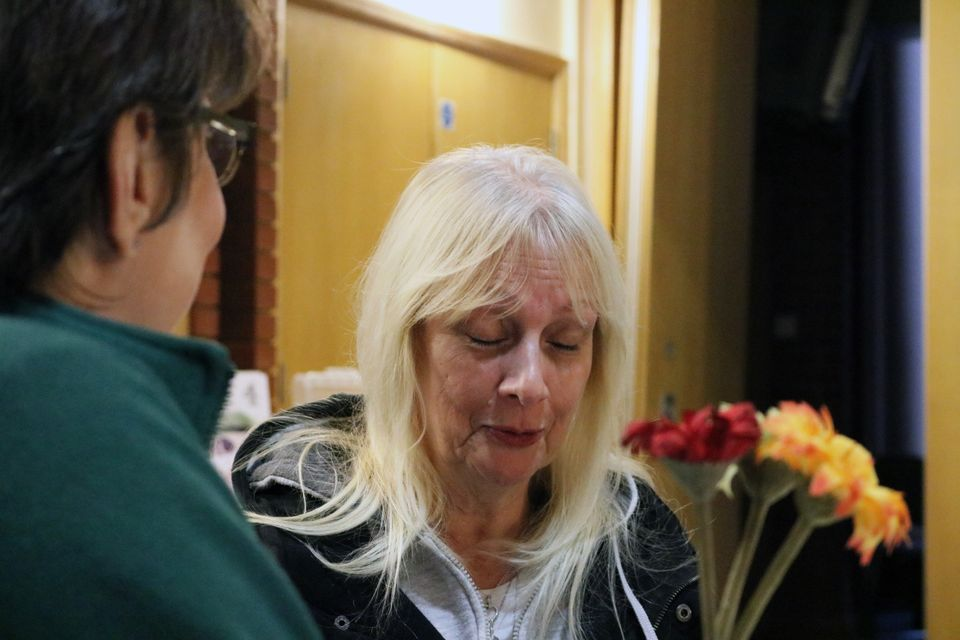 Maggie Millard has been forced to use food banks since moving onto Universal Credit. She's one of dozens...