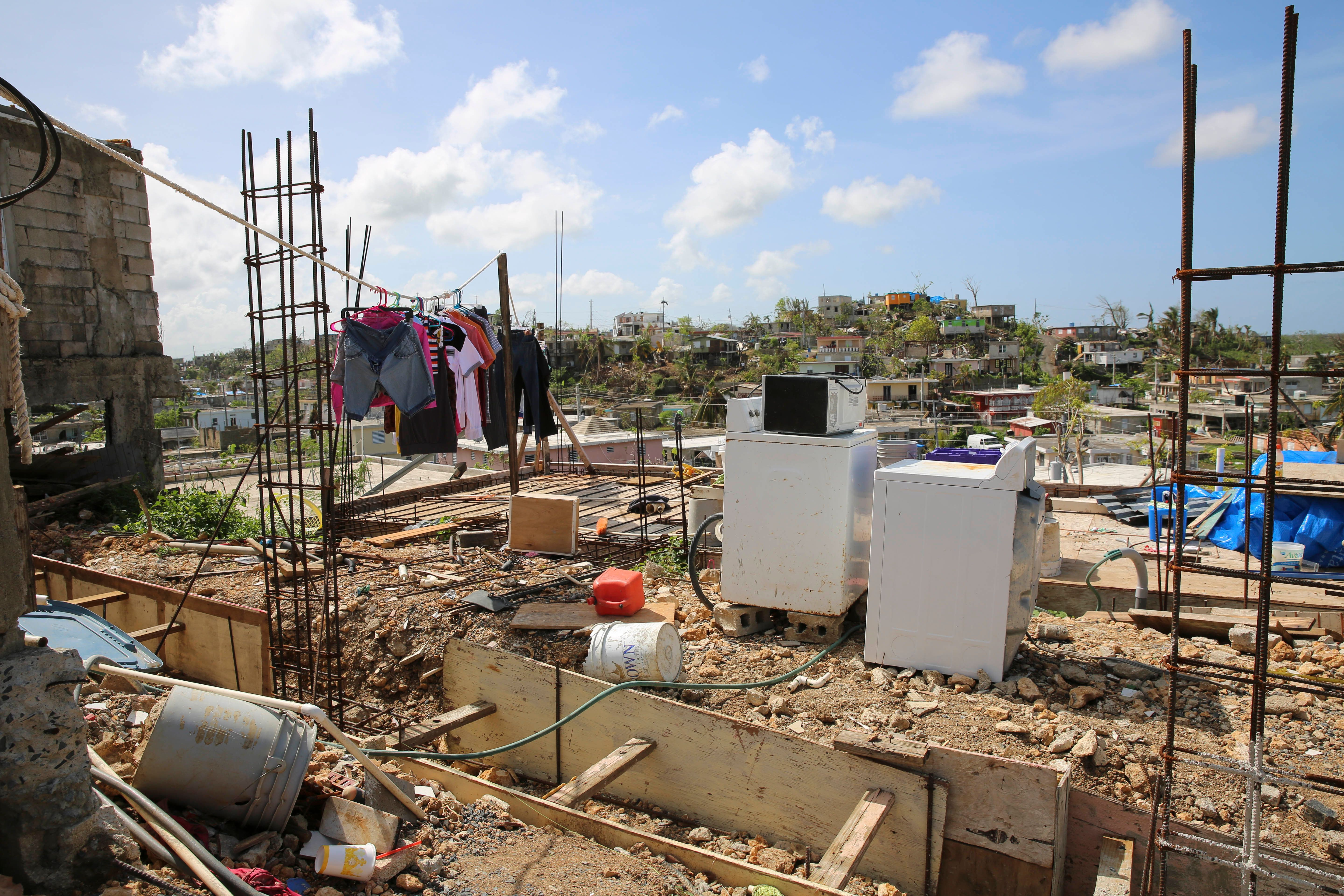 Many of the houses in Valle Hill and its neighboring communities, Villa Hugo 1 and 2, were destroyed...