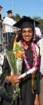 Sri Hatharasinghe-Gerschler at her 2006 graduation from University of California San Diego.