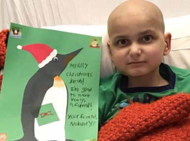 9-Year-Old Cancer Patient Asks For Homemade Cards As Final Christmas