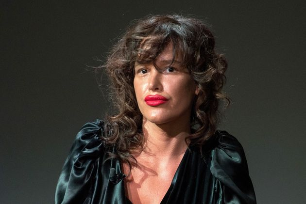 Paz de la Huerta has spoken to the NYPD about her allegations against Harvey