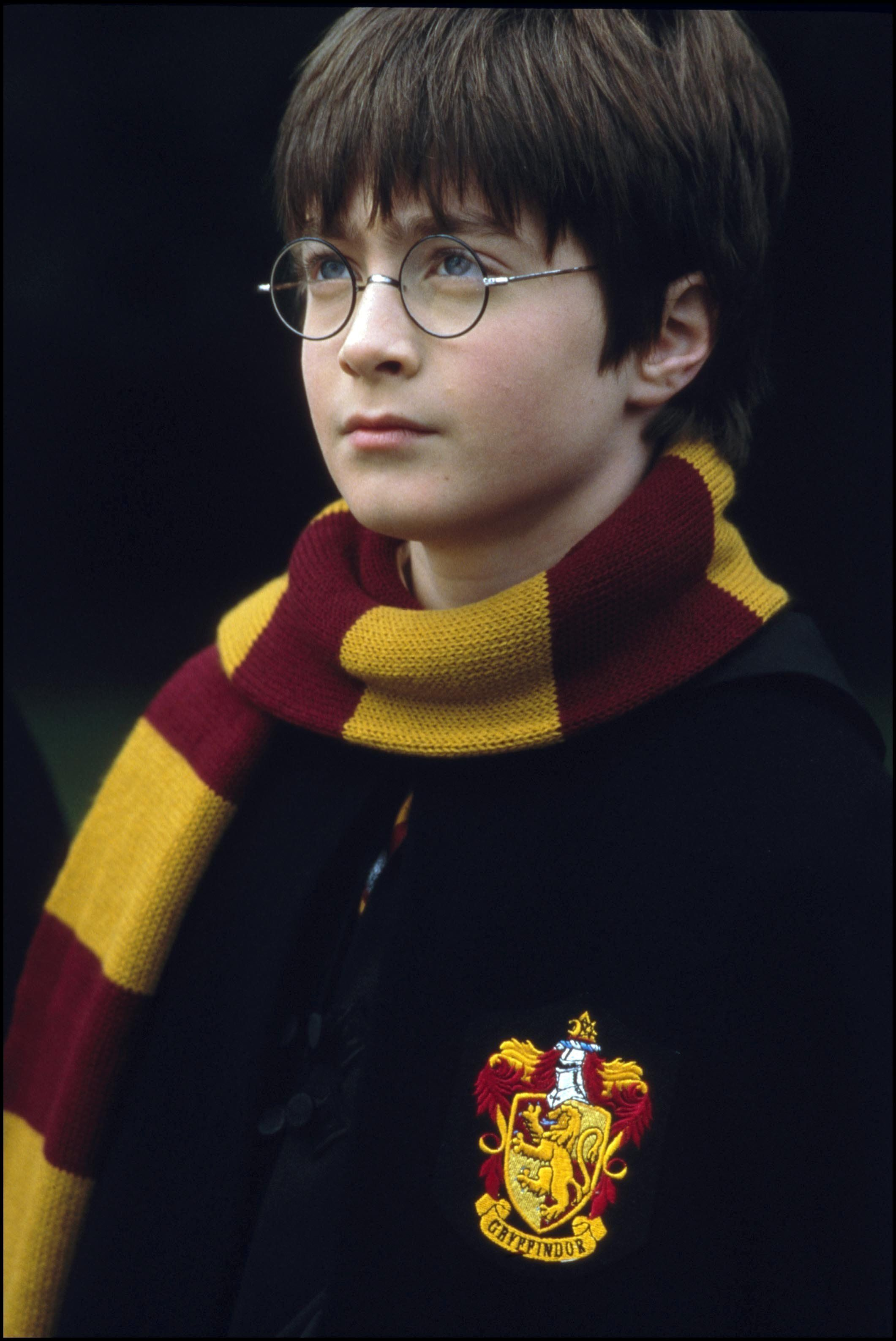 UNITED STATES - NOVEMBER 01:  Film 'Harry Potter and the philosopher's stone' In United States In November, 2001-Harry Potter (Daniel Radcliffe).  (Photo by 7831/Gamma-Rapho via Getty Images)