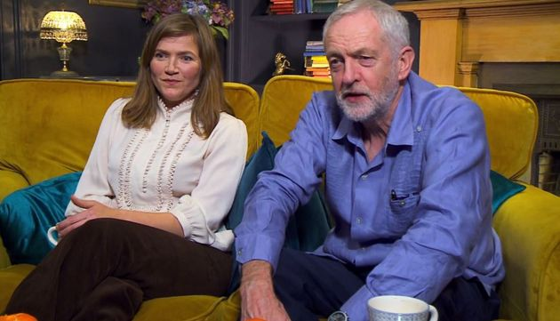 Jeremy Corbyn appeared on Celebrity Gogglebox alongside actress Jessica