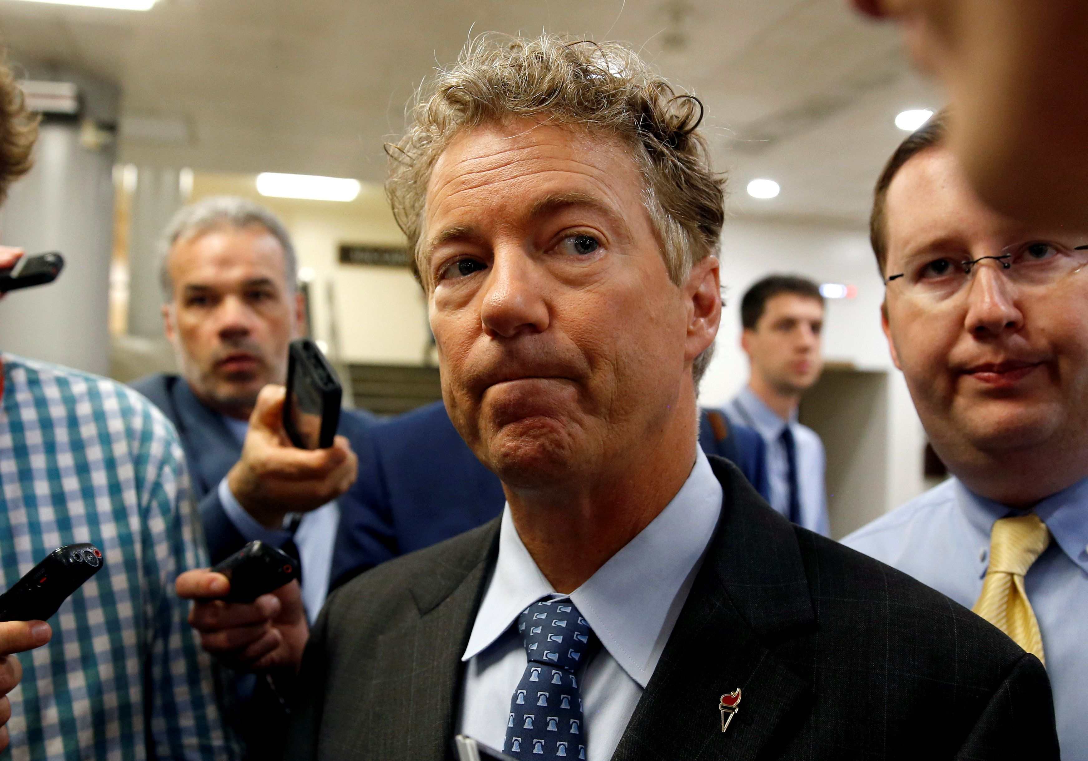 Rand Paul suffered minor injuries in an attack in his home