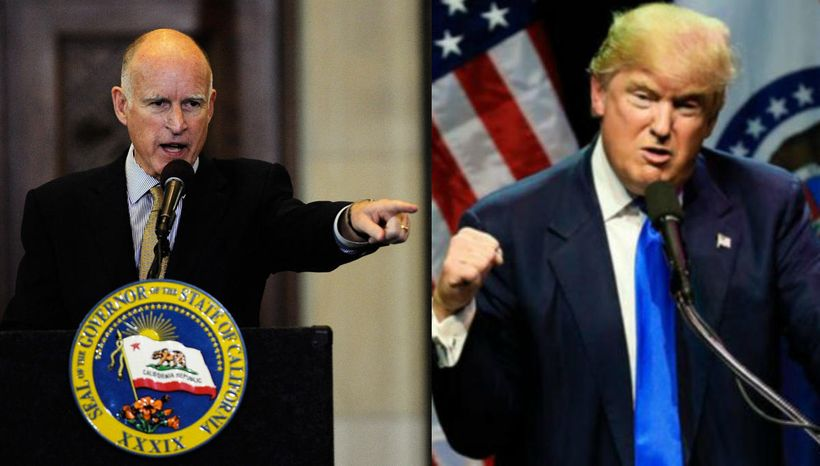 While President Donald Trump is off on a long and frankly dangerous tour of Asia, California Governor Jerry Brown is engaged