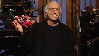 Larry David shocks audience Twitter