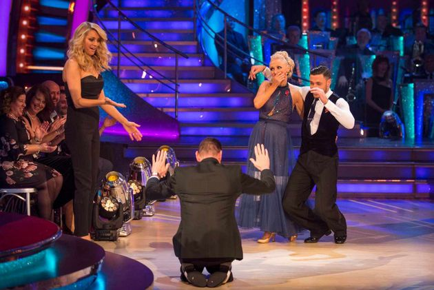 Even Tess Daly looked shocked at Craig's