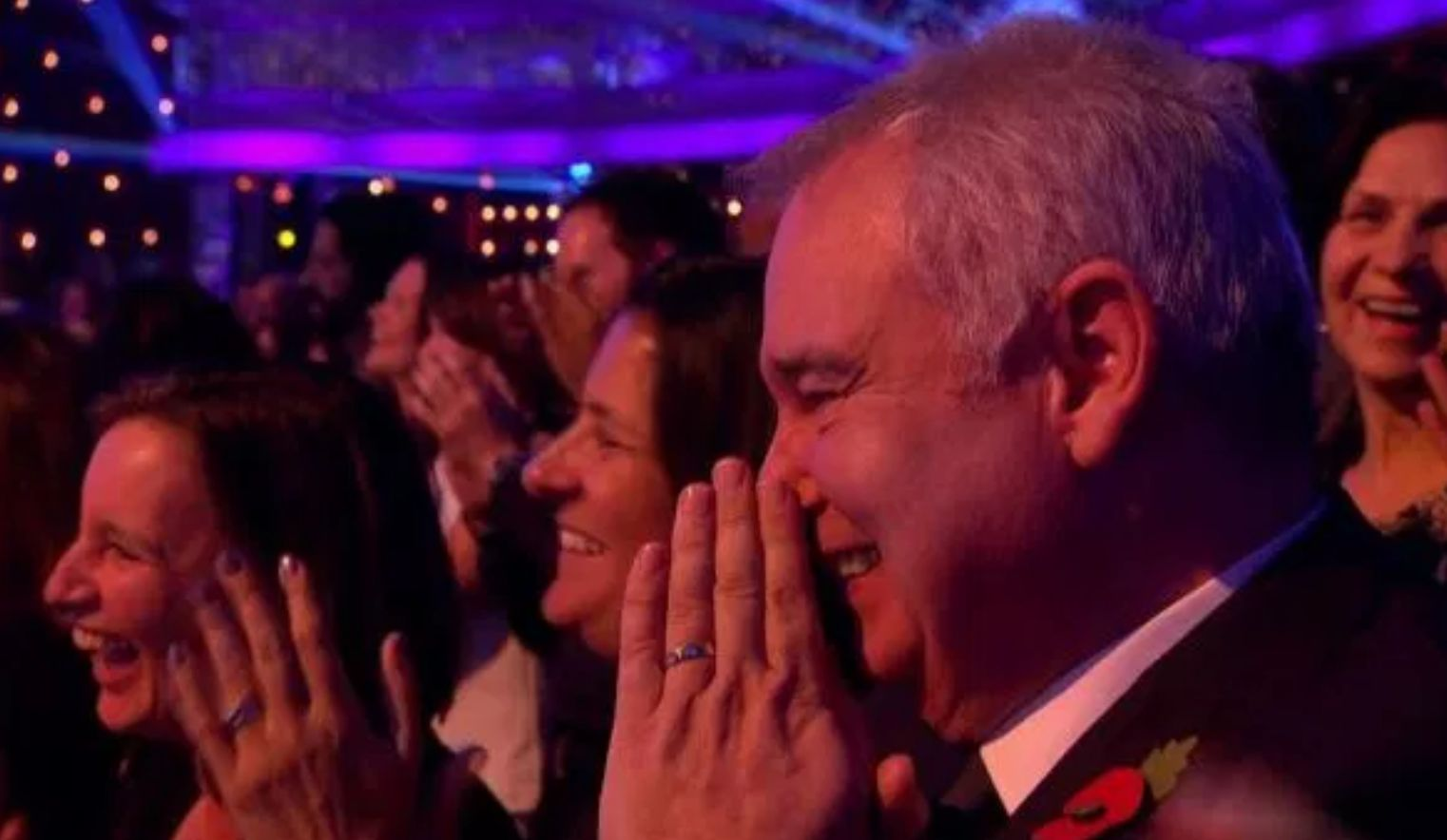 <strong>Eamonn in the 'Strictly' audience</strong>