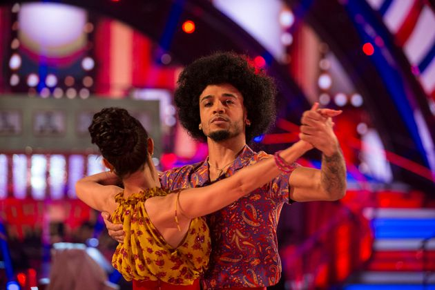 Kristina has blamed the production behind Aston's performance for his