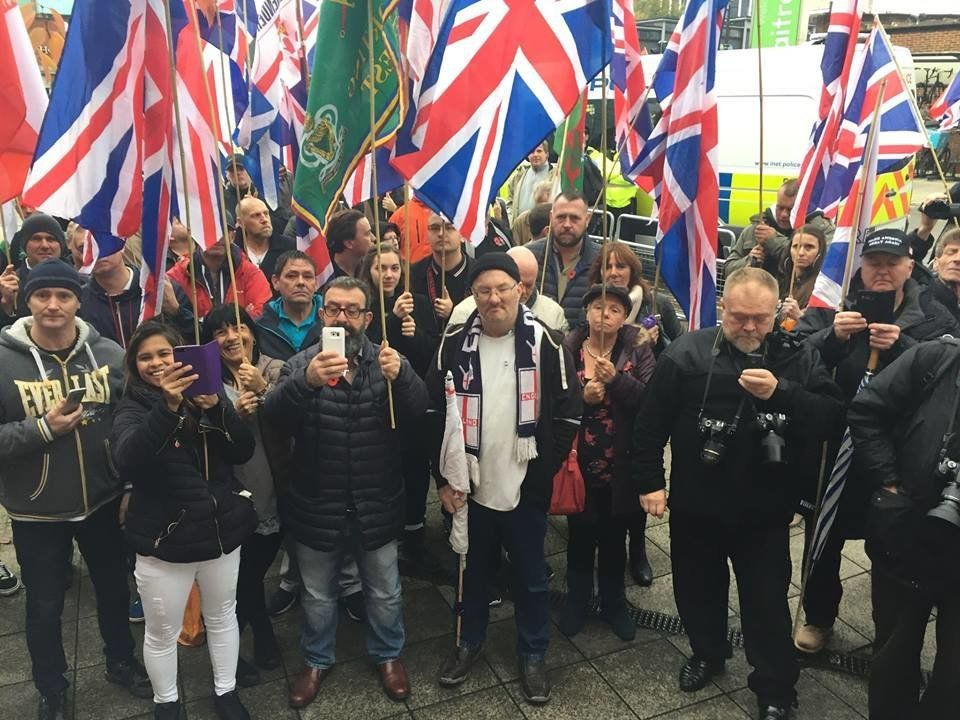 Six Years On And Britain First Still Can't Muster 100 People For A