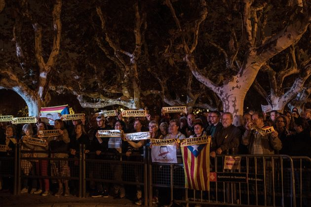 A pro-independence rally held last