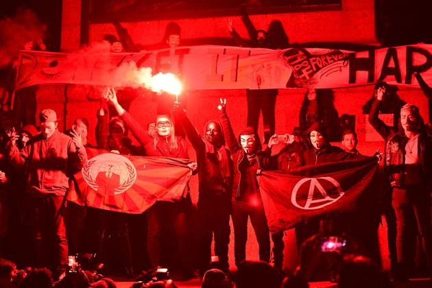 Million Mask March: Thousands Of Masked Anarchist Protesters March Through