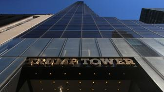 Trump Tower in New York USA.