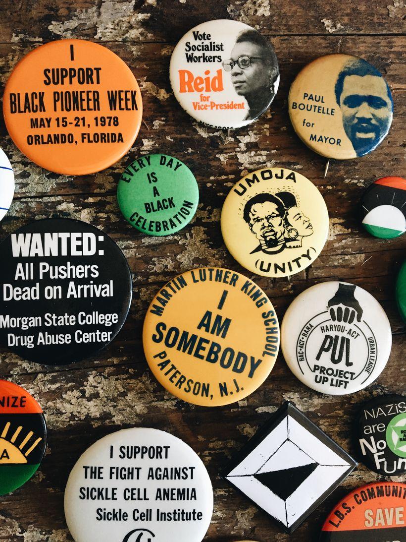 Vintage Pins.