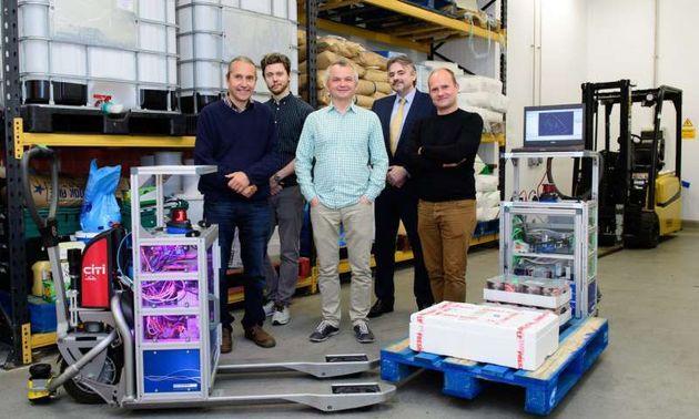 Researchers Work On Autonomous Forklift Trucks | HuffPost