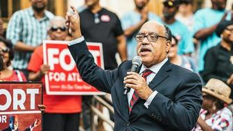 Vincent Fort the former Democratic whip in the Georgia state senate is running an insurgent bid to become mayor of Atlanta Georgia