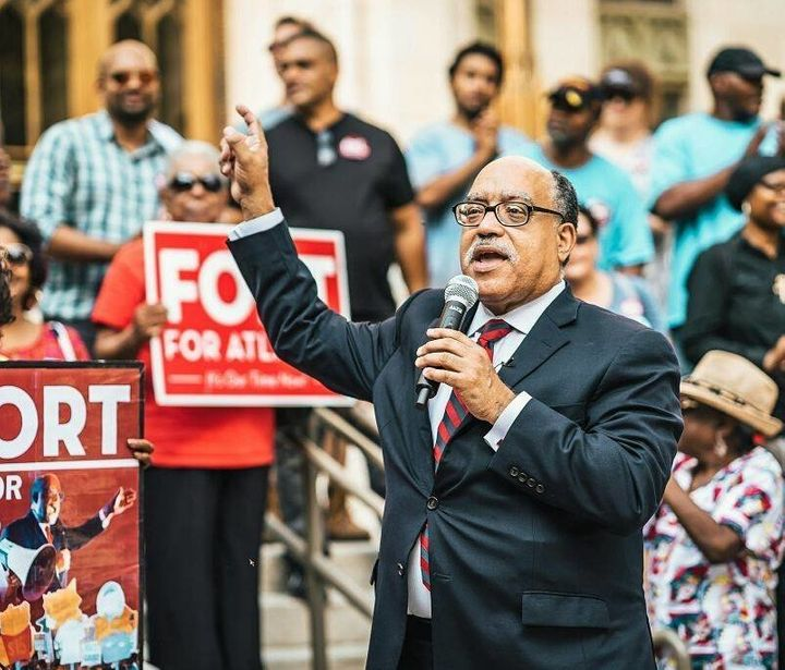 Vincent Fort, the former Democratic whip in the Georgia state Senate, is running an insurgent bid to become mayor of Atlanta.