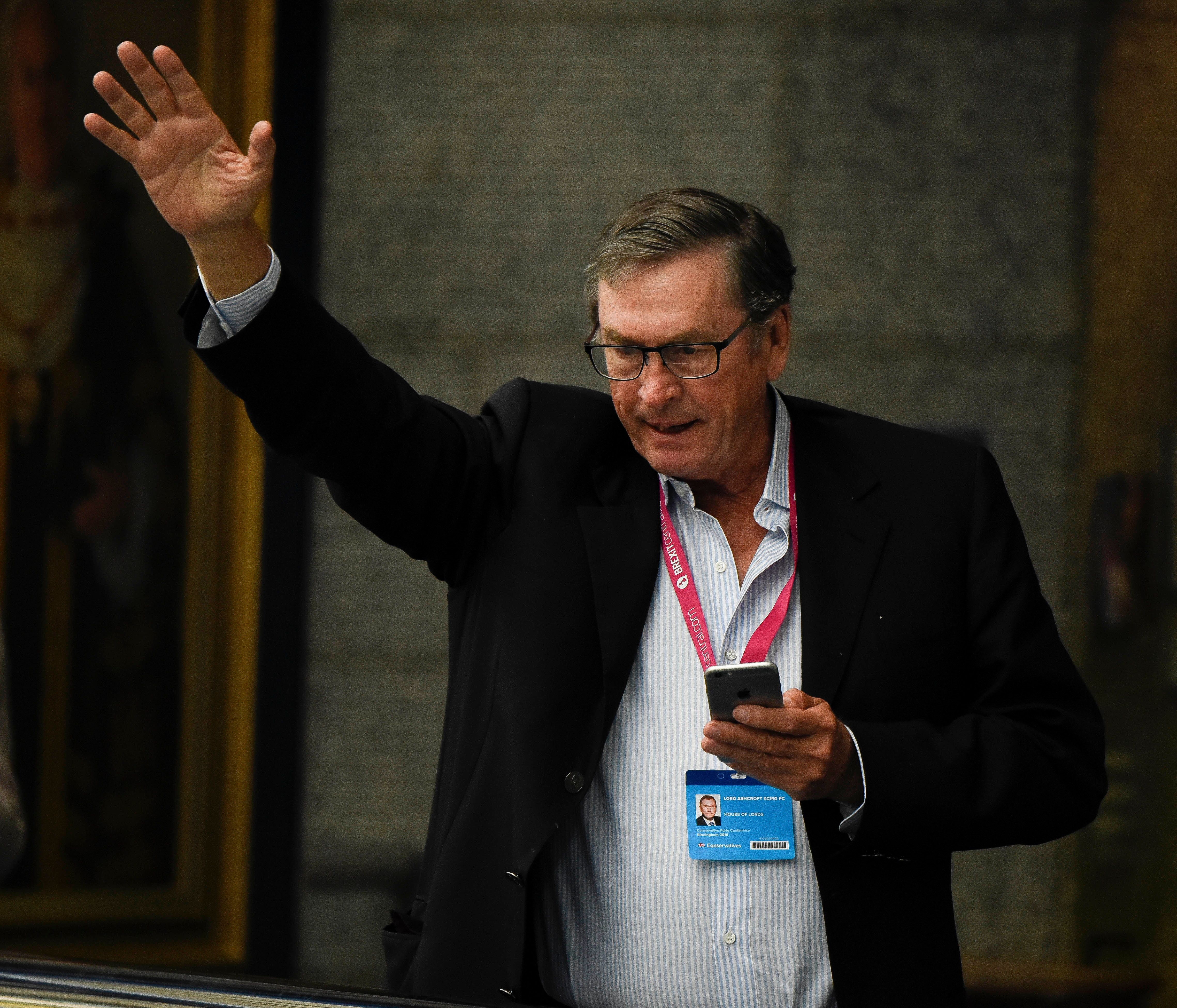 <strong>Lord Ashcroft has denied tax avoidance claims&nbsp;</strong>