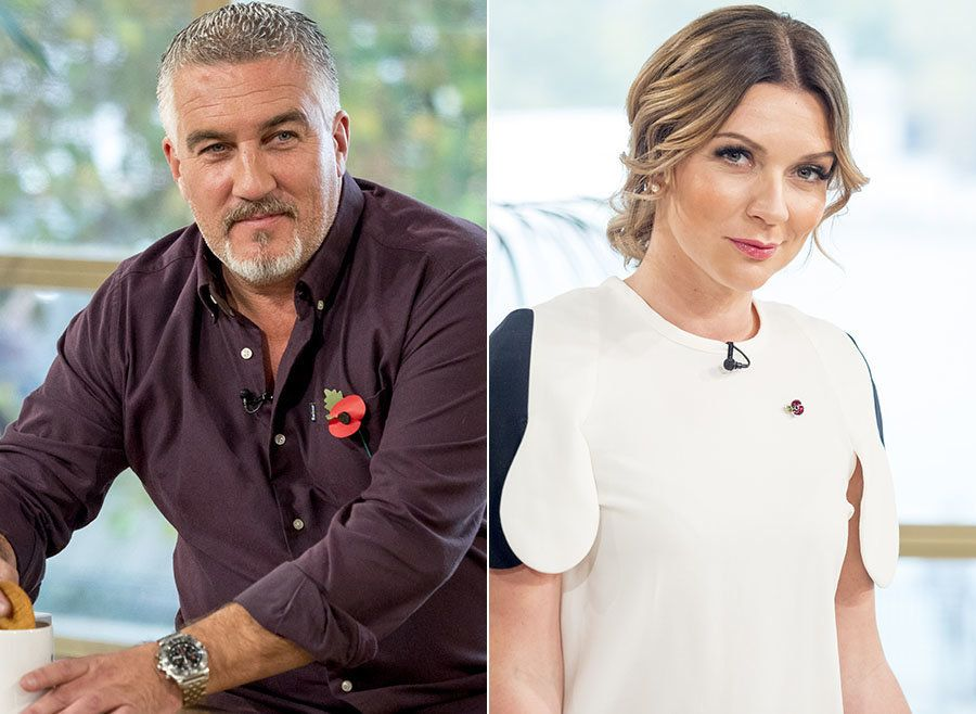 Paul Hollywood and Candice