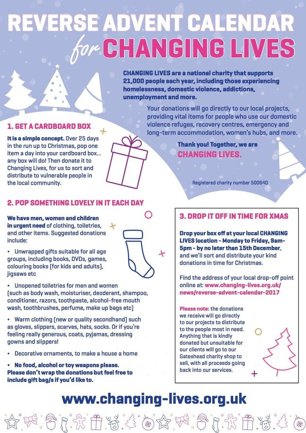 Why You Should Create A Reverse Advent Calendar This Year (And How To Do