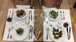 Naked Restaurant Opens In Paris Where Customers Are Invited To Dine In The