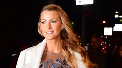 Blake Lively Spotted Filming New Movie 'The Rhythm Section' In