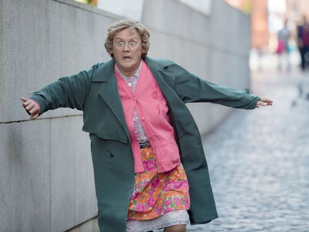 Brendan O'Carroll, seen here as Mrs Brown, is not
