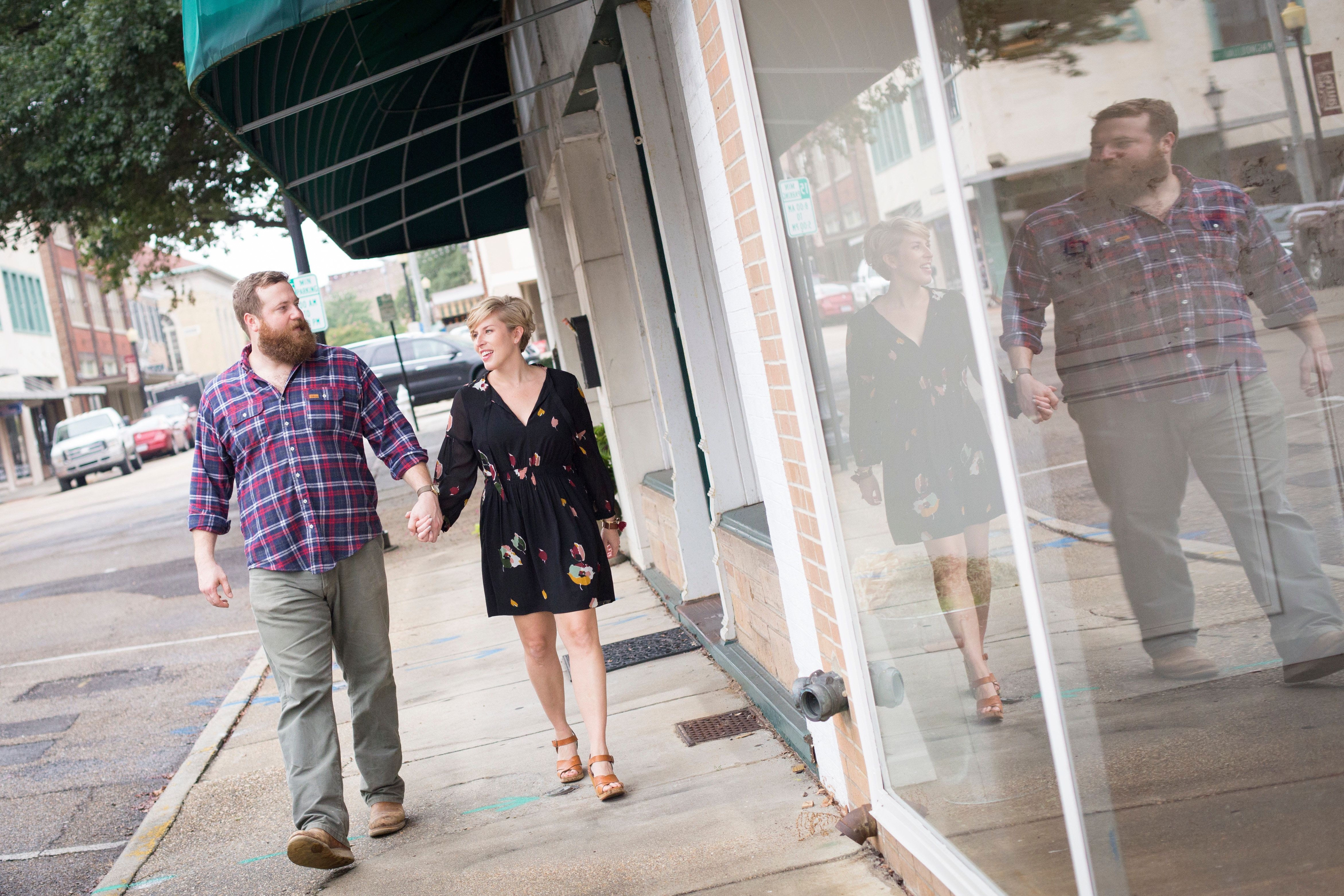 """Erin and Ben Napier, the couple on HGTV's show """"Home Town,"""" announced they will soon welcome their first child together."""
