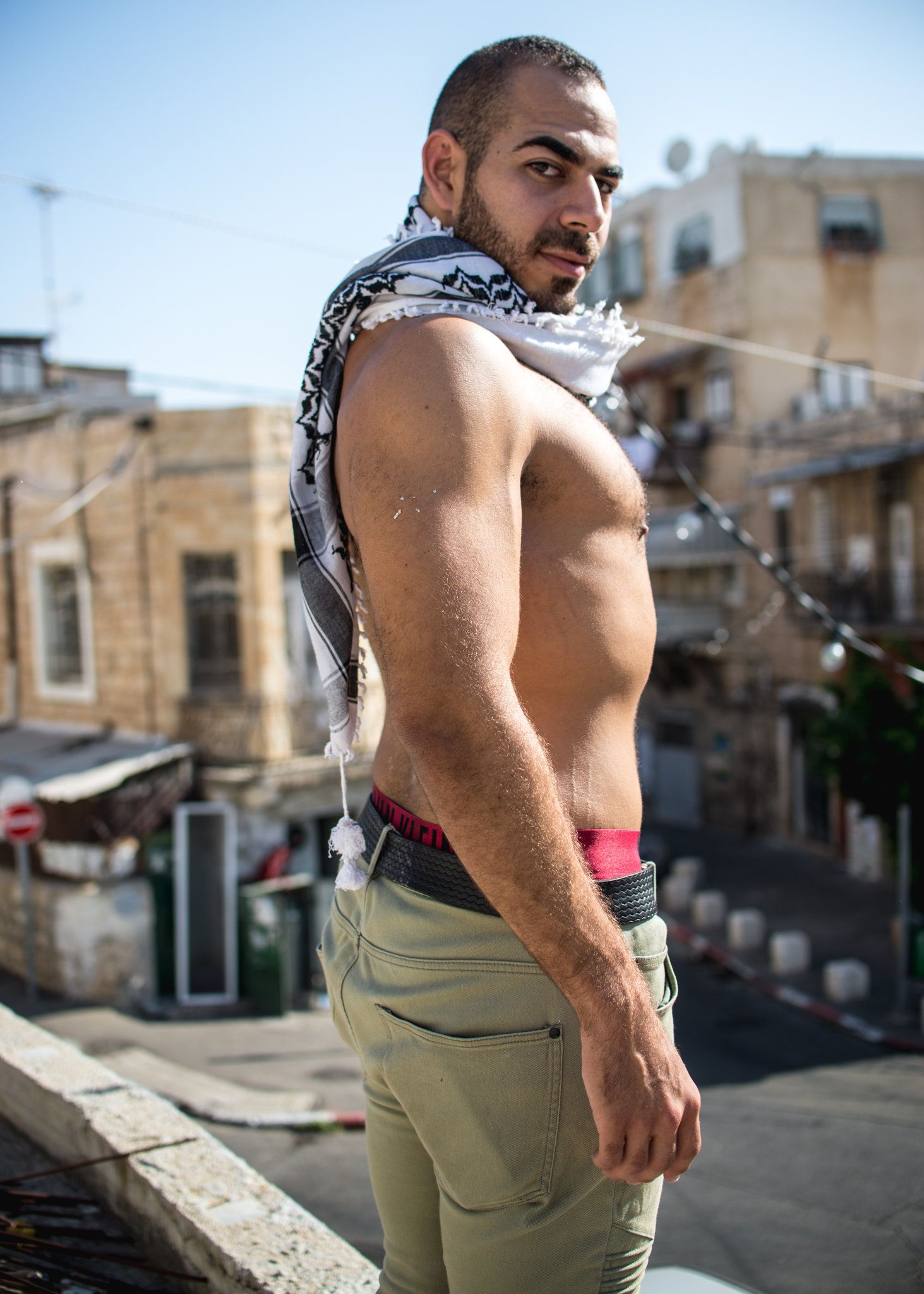 Arab gay male