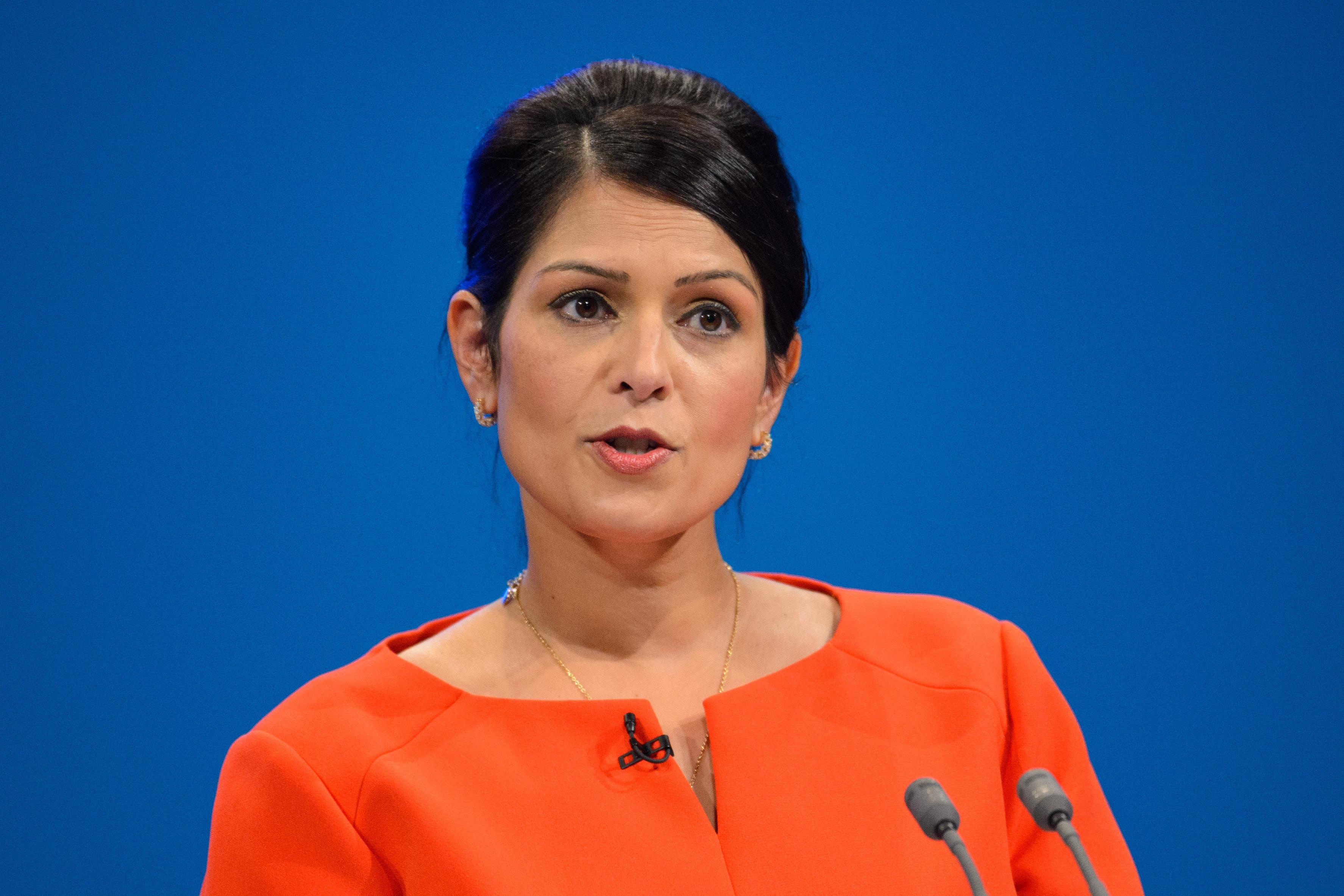 <strong>Secretary of State for International Development Priti Patel</strong>