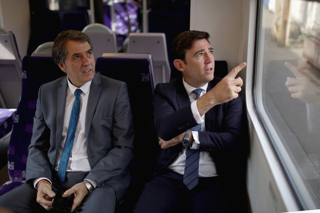 Steve Rotheram and Andy Burnham say northern rail links should be prioritised over Crossrail