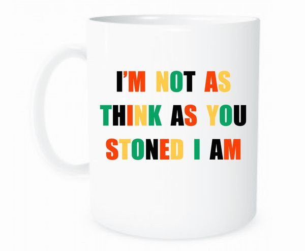 "Stoner mug, $11.95 at <a href=""https://www.etsy.com/listing/554429492/stoner-coffee-mug-marijuana-mug-pothead?ga_order=most_r"