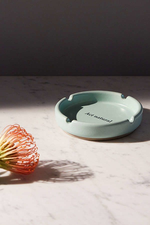 "Act Natural ashtray, $12 at <a href=""https://www.urbanoutfitters.com/shop/act-natural-ashtray?category=SEARCHRESULTS&colo"