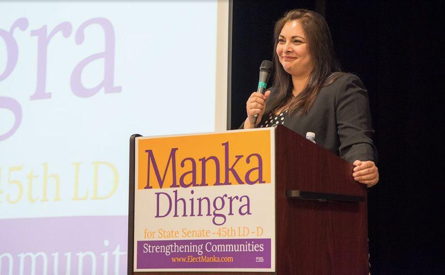 Democrat Manka Dhingra won the special election to fill a Washington state Senate seat