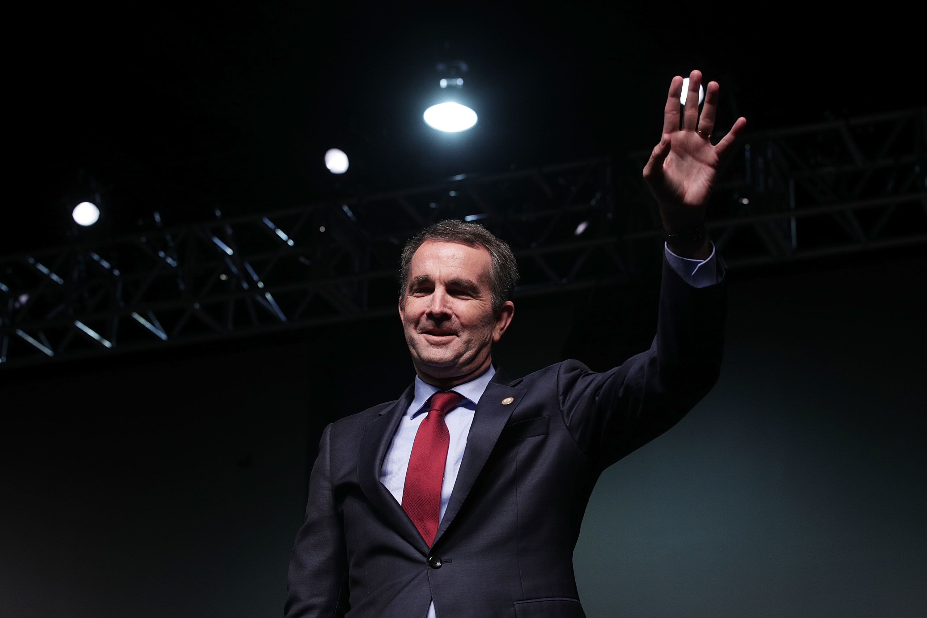 Democrat Ralph Northam hopes to avoid a demoralizing loss for his party in Virginia's gubernatorial election on Tuesday. Poll