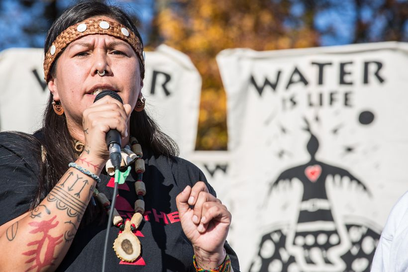 """On October 28th, hundreds of people in Metro Vancouver, Canada took action on the land and water for the<a rel=""""nofollow"""" hr"""