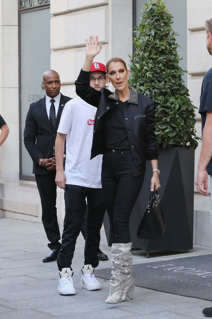In July, Celine Dionwore the boots in Paris.