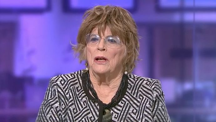<strong>Dame Anne Leslie faced criticism for her comments on Channel 4 News</strong>
