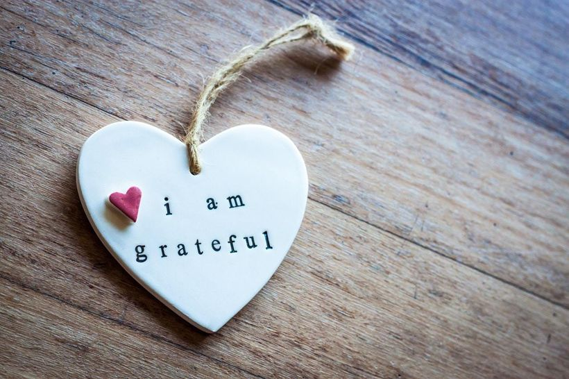 Feeling and expressing gratitude may influence how you feel everyday and it may help you heal quicker.